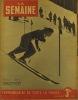 La Semaine N° 150. En couverture : Mort de la skieuse Cécile Agnel.. LA SEMAINE