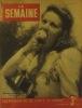 La Semaine N° 163. En couverture l'actrice Marina Rökk.. LA SEMAINE