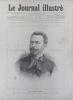 Le Journal illustré. Gravure à la Une : Portrait de Jules Mary. Gravure intérieure : Obsèques du Colonel Lebel à Vitré.. LE JOURNAL ILLUSTRE - 21 juin ...