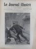 Le Journal illustré. Gravure à la Une : Tentative d'assassinat en chemin de fer, sur la ligne du Havre. Gravure intérieure double page : Meyerbeer. 15 ...