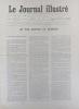 Le Journal illustré. Numéro consacré au centenaire de la télégraphie en France. Gravure intérieure double page : Centenaire de la télégraphie.. LE ...