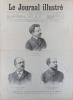 Le Journal illustré. Gravures à la Une : Les directeurs de l'Odéon. Gravure intérieure double page : Lord Dufferin, nouvel ambassadeur d'Angleterre à ...