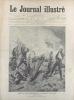 Le Journal illustré. Gravure à la Une : La dernière gargousse, tableau de M. Brisset au salon de 1893. Gravure intérieure double page : Un steamer ...