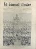 Le Journal illustré. Gravure à la Une : L'arrivée du général Dodds à la préfecture de Marseille. Gravure intérieure double page : L'effervescence à ...