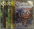 Les quatre saisons du jardinage. Bimestriel. 1984. Numéros 24 à 29. (Année 1984 complète).. LES QUATRE SAISONS DU JARDINAGE - 1984