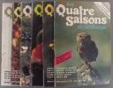 Les quatre saisons du jardinage. Bimestriel. 1987. Numéros 42 à 47. (Année 1987 complète).. LES QUATRE SAISONS DU JARDINAGE - 1987