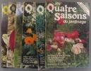 Les quatre saisons du jardinage. Bimestriel. 1989. Numéros 54 à 59. (Année 1989 complète).. LES QUATRE SAISONS DU JARDINAGE - 1989