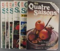 Les quatre saisons du jardinage. Bimestriel. 1990. Numéros 60 à 65. (Année 1990 complète).. LES QUATRE SAISONS DU JARDINAGE - 1990