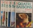 Les quatre saisons du jardinage. Bimestriel. 1991. Numéros 66 à 71. (Année 1991 complète).. LES QUATRE SAISONS DU JARDINAGE - 1991