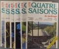 Les quatre saisons du jardinage. Bimestriel. 1994. Numéros 84 à 89. (Année 1994 complète).. LES QUATRE SAISONS DU JARDINAGE - 1994