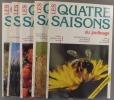 Les quatre saisons du jardinage. Bimestriel. Année 1992 incomplète. Numéros 72 à 77. (Il manque le numéro 74).. LES QUATRE SAISONS DU JARDINAGE - 1992 ...
