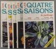 Les quatre saisons du jardinage. Bimestriel. Année 1996 incomplète. Numéros 96 à 101. (Il manque le numéro 99).. LES QUATRE SAISONS DU JARDINAGE - ...
