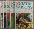 Les quatre saisons du jardinage. Bimestriel. Année 1997 incomplète. Numéros 102 à 107. (Il manque le numéro 106).. LES QUATRE SAISONS DU JARDINAGE - ...