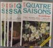 Les quatre saisons du jardinage. Bimestriel. Année 1998 incomplète. Numéros 108 à 113. (Il manque le numéro 109).. LES QUATRE SAISONS DU JARDINAGE - ...