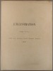 Table alphabétique de la revue L'Illustration. 1891, deuxième semestre. Tome XCVIII : juillet à décembre 1891.. L'ILLUSTRATION TABLE 1891-2
