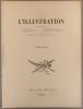 Table alphabétique de la revue L'Illustration. 1937, premier volume. Tome CXCVI : janvier à avril 1937.. L'ILLUSTRATION TABLE 1937-1
