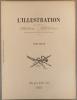 Table alphabétique de la revue L'Illustration. 1937, deuxième volume. Tome CXCVII : mai à août 1937.. L'ILLUSTRATION TABLE 1937-2