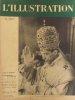 L'Illustration N° 5011. Le couronnement de Pie XII (8 pages, plus un portrait en double page hors texte) - La fin des masques : article de 6 pages en ...