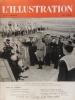 L'Illustration N° 5109. La guerre - Indochine (5 pages) - Le théâtre Guignol (4 pages en couleurs, aquarelles d'A. Galland) - Sylvia à l'Opéra (3 ...