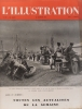 L'Illustration N° 5207. La guerre - Les flotteurs de l'Yonne (3 pages par Albert Soulillou) - Les visiteurs du soir de Marcel Carné (1 page) - Les ...