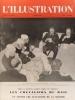 L'Illustration N° 5236. La guerre - Les chevaliers du rail (4 pages en couleurs, aquarelles d'A. Brenet) - Histoire de la locomotive par le timbre (1 ...