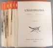 L'Illustration 1939 : Ensemble des numéros de septembre à décembre, sauf le numéro de Noël. 16 numéros (5035 à 5052, sauf 5050). Avec la table des ...