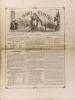 """La France illustrée N° 198. Gravures intérieures : Statue de ND de la Falaise - Catastrophe du """"Princesse Alice"""" sur la Tamise - La reine d'Espagne - ..."""