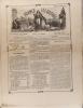 La France illustrée N° 200. Gravures intérieures : Procession de N.-D. de Boulogne (2 gravures) - Le logis abandonné - (gravure double page) - ...