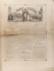 La France illustrée N° 236. Gravures intérieures : Portraits des dix nouveaux cardinaux - Les courses d'Epsom - Portrait de Mène, sculpteur ...