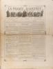 La France illustrée N° 241. Gravures intérieures : Le maître d'école (tableau italien) - Mgr Isoard évêque d'Annecy - La Roche des orages en Caroline ...