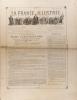 La France illustrée N° 314. Gravures intérieures : Statue de Mgr Landriot - Les expulsés et leurs défenseurs (16 portraits, double-page) -. LA FRANCE ...