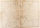 Carte physique de l'Allemagne du nord. Carte extraite de l'Atlas universel et classique de géographie ancienne, romaine, du moyen âge, moderne et ...