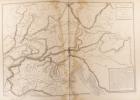 Carte physique de l'Allemagne du sud et de l'Italie du nord ; chaîne des Alpes. Carte extraite de l'Atlas universel et classique de géographie ...