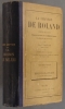La chanson de Roland. Texte critique, traduction et commentaire, grammaire et glossaire par Léon Gautier. Edition classique à l'usage des élèves de ...