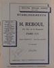 Catalogue d'accessoires pour cycles : lanternes Birming et Torpille. Pare-boue, lampions et rétroviseurs Birming. Bolonnerie H.R. Chaînes Gloria.. ...