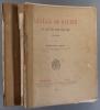 Gustave de Galard, sa vie et son œuvre. (1779-1841). 2 volumes. Portrait de Gustave de Galard, un fac-similé de lettre - 4 planches dans le premier ...