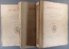 Bordeaux. Aperçu Historique. - Sol, population, industrie, commerce. - Administration. 3 volumes de texte. Il manque l'album.. LA MUNICIPALITE ...
