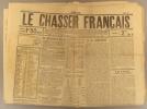 Le chasseur français. Journal cynégétique et sportique. N° 76.. LE CHASSEUR FRANÇAIS
