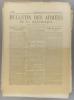 Bulletin des armées de la République N° 106. Réservé à la zone des armées. Contient le tableau d'honneur, citations à l'ordre de l'armée.. BULLETIN ...