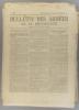 Bulletin des armées de la République N° 107. Réservé à la zone des armées. Contient le tableau d'honneur, citations à l'ordre de l'armée.. BULLETIN ...