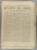 Bulletin des armées de la République N° 108. Réservé à la zone des armées. Contient le tableau d'honneur, citations à l'ordre de l'armée.. BULLETIN ...