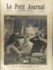 Le Petit journal - Supplément illustré N° 25 : Un drame en chemin de fer. L'affaire de Montmoreau. (Gravure en première page). Gravure en dernière ...