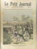 Le Petit journal, Supplément illustré N° 32 : Le fléau algérien: invasion de sauterelles (Gravure en première page). Gravure en dernière page : ...