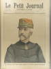 Le Petit journal - Supplément illustré N° 409 : Le nouveau chef d'état-major général de l'armée - Général Renouard (Gravure en première page). Gravure ...