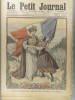 Le Petit journal - Supplément illustré N° 1036 : En Alsace-Lorraine, pas de fleurs sur les tombes des victimes de 1870. (Gravure en première page). ...
