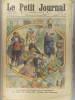 Le Petit journal - Supplément illustré N° 1195 : Ce que M. Poincaré verra en Espagne. (Gravure en première page). Gravure en dernière page : Sauvé par ...