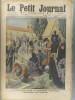 Le Petit journal - Supplément illustré N° 1198 : La Toussaint en Espagne. (Gravure en première page). Gravure en dernière page: Cheval poursuivi par ...