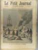 Le Petit journal - Supplément illustré N° 136 : Les feux de la Saint-Jean en Bretagne. (Gravure en première page). Gravure en dernière page : ...