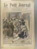 Le Petit journal - Supplément illustré N° 855 : Assassinat du Dr Mauchamp à Marrakech (Gravure en première page). Gravure en dernière page : Acte de ...