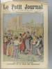 Le Petit journal - Supplément illustré N° 1176 : Election de la reine des Bohémiens aux Saintes-Maries-de-la-Mer. (Gravure en première page). Gravure ...